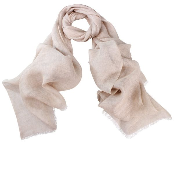 Linen Scarf in Natural