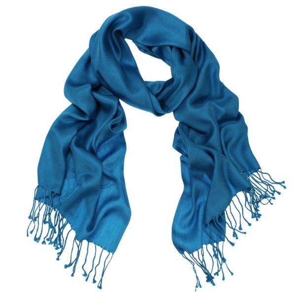 DAphne scarf peacock